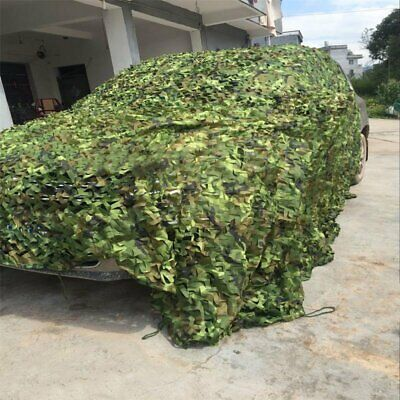Camouflage Net Camo Hunting Shooting Hide Army Camping Woodland Netting 10Mx1.5M 3