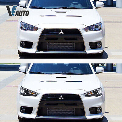 VLAND Fit For Mitsubishi Lancer / EVO X LED HeadlightS Lamp Pair Set Assembly 6