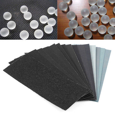 Wet and Dry Sandpaper Any Grit 150-8000 High Quality Sanding Paper Abrasive Tool 10