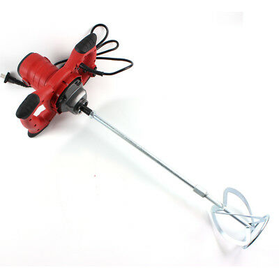 110V-220V Handheld Electric Variable Speed 1500W Mortar Mixer Cement Mixer