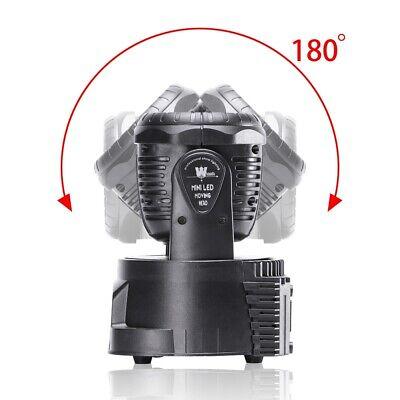 2x 105W RGBW Wash 7LED 9/14CH DMX Mini Moving Head Stage Light Lighting DJ Disco 9