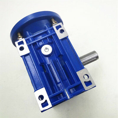 NMRV030 Worm Gear Speed Reducer Ratio 10:1 56B14 for  Stepper Motor 1400r/min 5