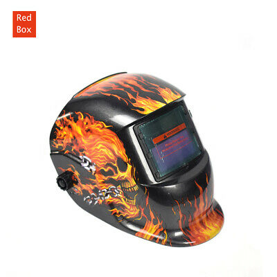 Leopard Solar Auto Darkening Welding Helmet ARC TIG Grinding Welder Shield Mask 5