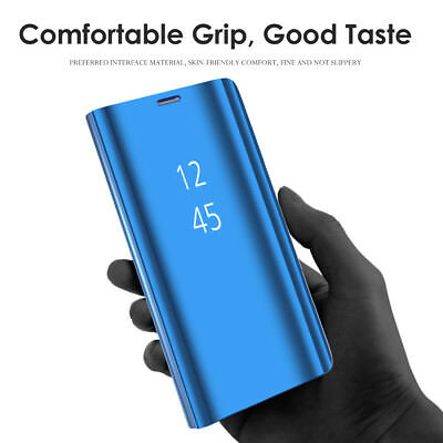 Samsung Galaxy S8 S9 S10 5G Plus S10e Note 8 9 Smart Mirror View Flip Case Cover 2