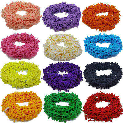Pom Pom Trim Trimming Sewing Craft Per Metre 10mm Bobble Fringe Pompom Quality 2