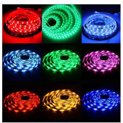10M 5050 Rgb Led Strip Lights Colour Changing Tape Kitchen Lighting 1M 2M 3M 5M 7