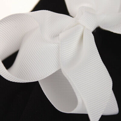 Girls Kids Baby Soft Bow Hairband Headband Sweet Turban Knot Head Wrap Cute Bow 12