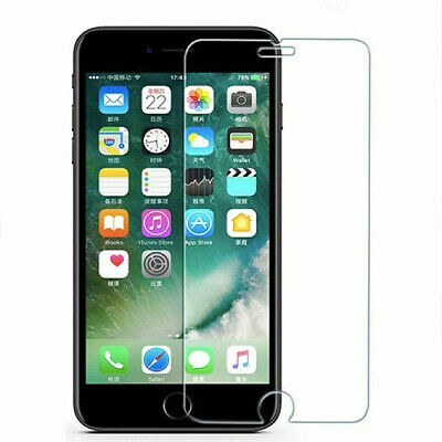 vitre verre trempe film de protection pour iPhone 5/5C/SE/6/6S/7/8/X/XS MAX XR 2