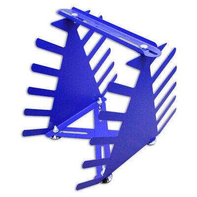 Desktop Siebdruck Squeegee Rack Spachtel Halter Veranstalter Regale Werkzeug 3