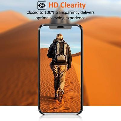 9D Vitre Verre Trempé Film protection d'écran iPhone XR X XS MAX 6 7 8 LOT x2 2
