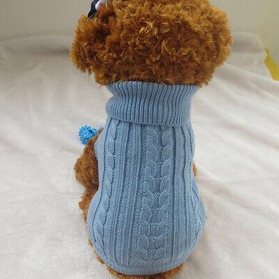 Vêtements Pour chien Chaud Manteau Hiver Pull-over Chiot Chat Tricot Costume