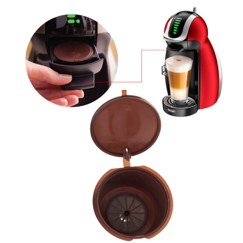 HOT Useful K Cups Coffee Refillable Capsule Pods For Nescafe Dolce Gusto Machine 2 • AUD 2.08