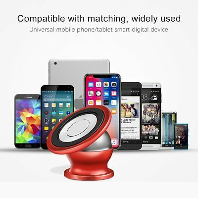 Magnetic Phone Holder 360° Universal Mobile Phone Magnet Car Mount Stand lot 10