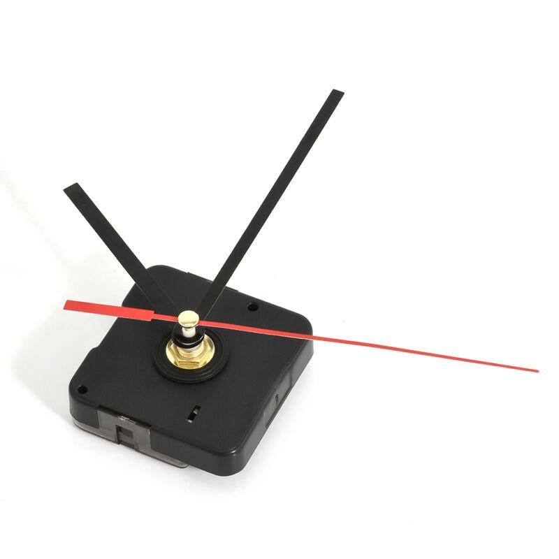 Practical Clock Black Hands Replacement Part Set Quartz Movement Mechanism Red 4
