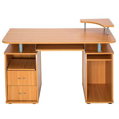 Computertisch Pc Tisch Arbeitstisch Mit Schubladen Schreibtisch