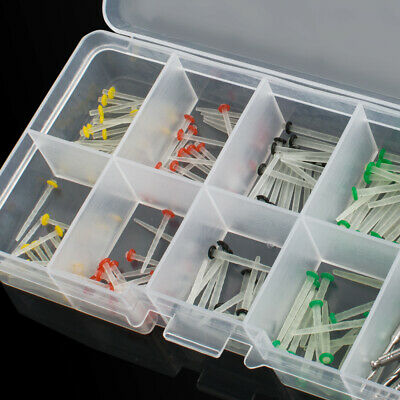 New 160Pc Dental Glass Fiber Post Single Refilled Package & Free For 32pcs Drill 3