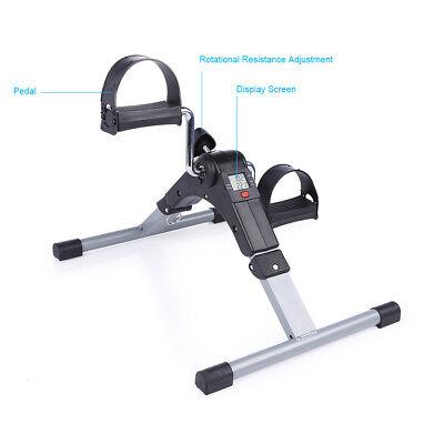 Mini Fitness Heimtrainer Fahrradtrainer Arm- und Beintrainer Bike Trimmrad LCD 11