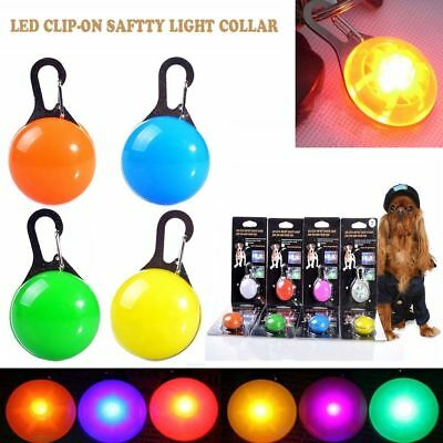 Pet Puppy Led Collar Light Dog Cat Waterproof Illuminated Collar Safety Night DO 4