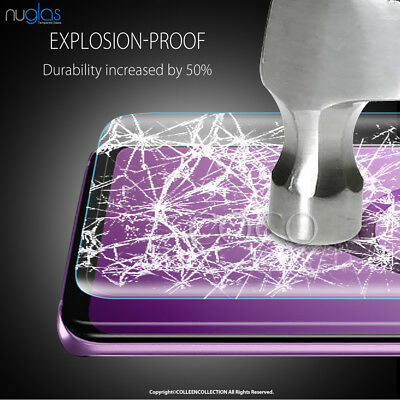 Galaxy S9 S8 Plus Note 9 8 NUGLAS Tempered Glass Full Screen Protector Samsung 9