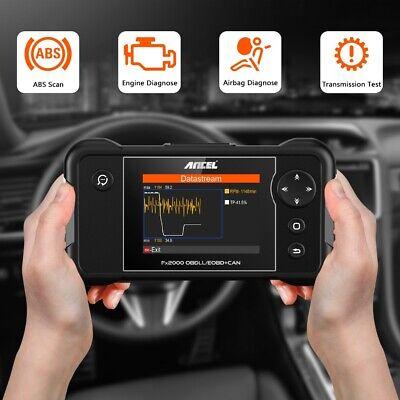 Check Engine Transmission ABS SRS Airbag Code Reader OBD2 Scanner Diagnostic 2