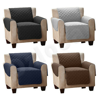 Sofa Cover Quilted Couch Covers Lounge Protector Slipcovers 1/2/3 Seater Pet Dog 2