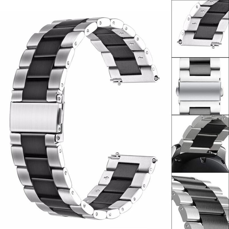 Samsung Galaxy Watch 46mm Correa reloj acero inoxidable + herramienta de enlace 3
