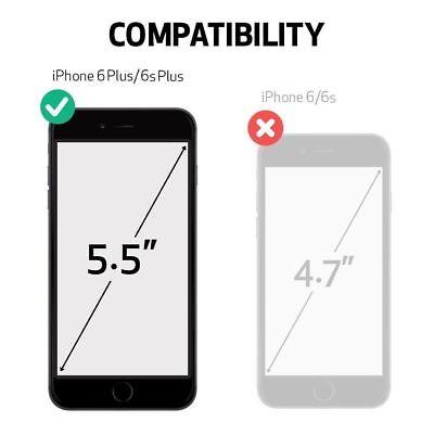 iPhone 6 Plus iPhone 6s Plus Case w/Belt Clip fits Otterbox Defender Gray/White