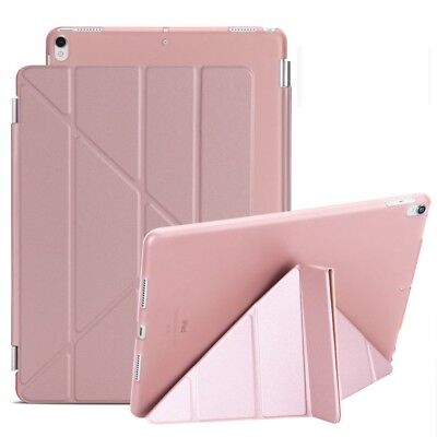 Full Cover Soft TPU Magnetic Back Case For iPad Air Mini 1 2 3 4 AUTO SLEEP WAKE 9
