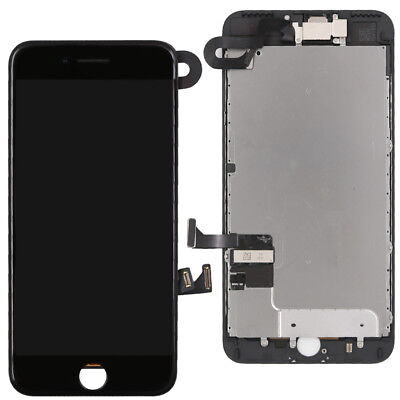 For Apple iPhone 7 Plus Screen Replacement Touch LCD Digitizer + Camera Black