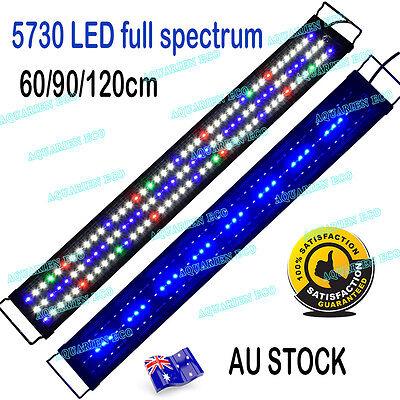 30-180cm FULL Spectrum Aquarium Fish Tank LED Light Fresh Marine Plant Lights 5