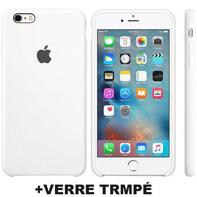 Cover Coque iPhone 6 7 8 Plus Xr Xs MAX X Slim Protection + Film Verre trempé 4