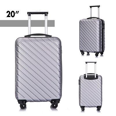 """4 piece Travel Luggage Set Suitcase Spinner Hardshell Business Case 18""""20""""24""""28"""" 6"""