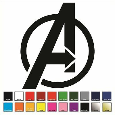 Iron Man Decal Sticker BUY 2 GET 1 FREE Choose Size /& Color Avengers