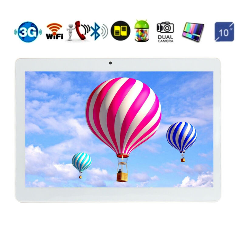 10.1'' Tablet PC Android 6.0 Octa Core 4+64GB 10 Inch HD WIFI 3G Phone Phablet