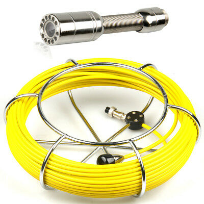 """40M Sewer Waterproof Camera Pipe Pipeline Drain Inspection System 7""""LCD DVR 5"""