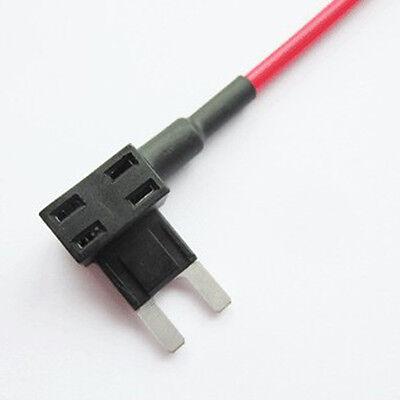 10 X 12/24V ATM APM Add A Circuit Fuse Tap Piggy Back Mini Blade Holder HY 6