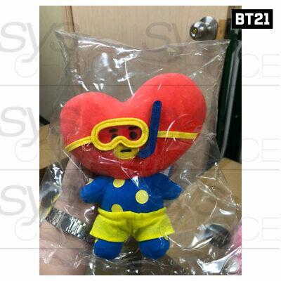 BTS BT21 Official Authentic Goods Von Voyage Summer Doll 15cm 5.9in + Tracking# 10