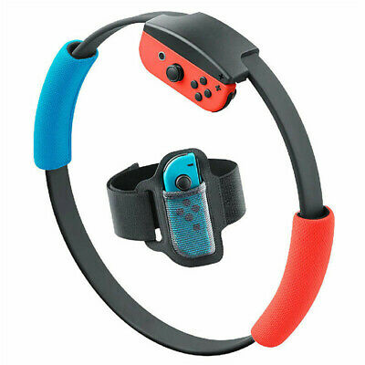 Ring Fit Adventure Fitness Game Set--Standard Edition (Nintendo Switch, 2020) A9 7