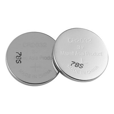 5 X Maxell CR 2032 Lithium Coin Cell Button 3V Battery Batteries Panasonic Sony