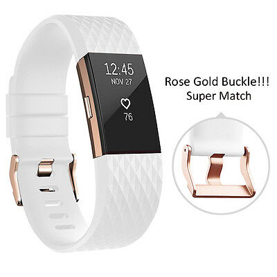 For Fitbit Charge 2 Wrist Strap Wristbands Best Replacement Accessory Watch Band 10