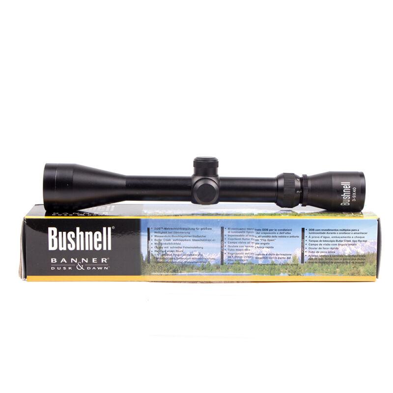 AU Bushnell 3-9X40 Tactical Optics Rifle Scope with FREE MountHunting Riflescope 6