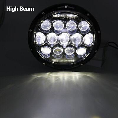 "Pair 7"" INCH 75W LED Headlight Hi/Lo Beam DRL Fit Jeep Wrangler CJ JK LJ Camaro 4"
