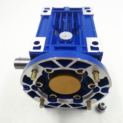 NMRV030 Worm Gear Speed Reducer Ratio 10:1 56B14 for  Stepper Motor 1400r/min 8