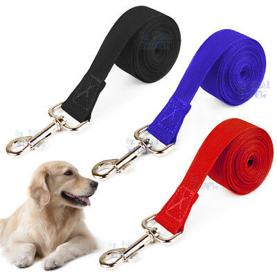 1.8/4.5/6/9/15/30M Long Dog Pet Puppy Training Obedience Recall Lead Leash AU 2