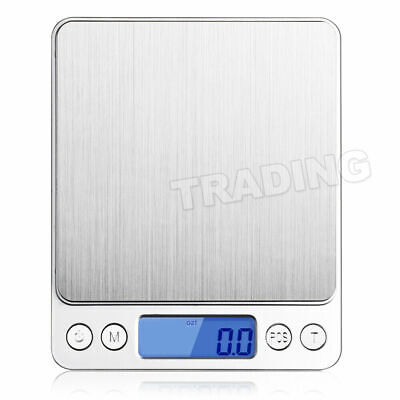 0.01-500g Kitchen Food Scale Digital LCD Electronic Balance Weight Postal Scales 5