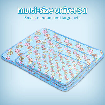 Indoor Summer Cat Dog Self-Cooling Mat Hot Weather Puppy Sleeping Bed Chihuahua 4
