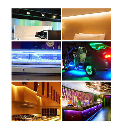 10M 5050 Rgb Led Strip Lights Colour Changing Tape Kitchen Lighting 1M 2M 3M 5M 8