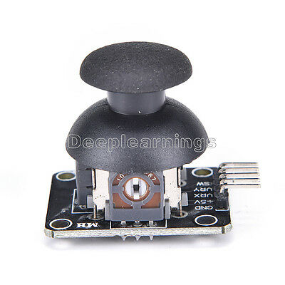 2 PCS JoyStick 5Pin Breakout Module Shield PS2 Joystick Game Controller New 3