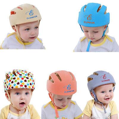 Adjustable Baby Toddler Safety Helmet Headguard Cap Protective Harnesses Hat Kid 3