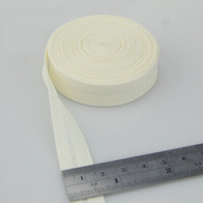 100% Cotton Bias Binding Tape Folded 16mm Wide 5/8 Inch Trimming/Edging/Quilting 7